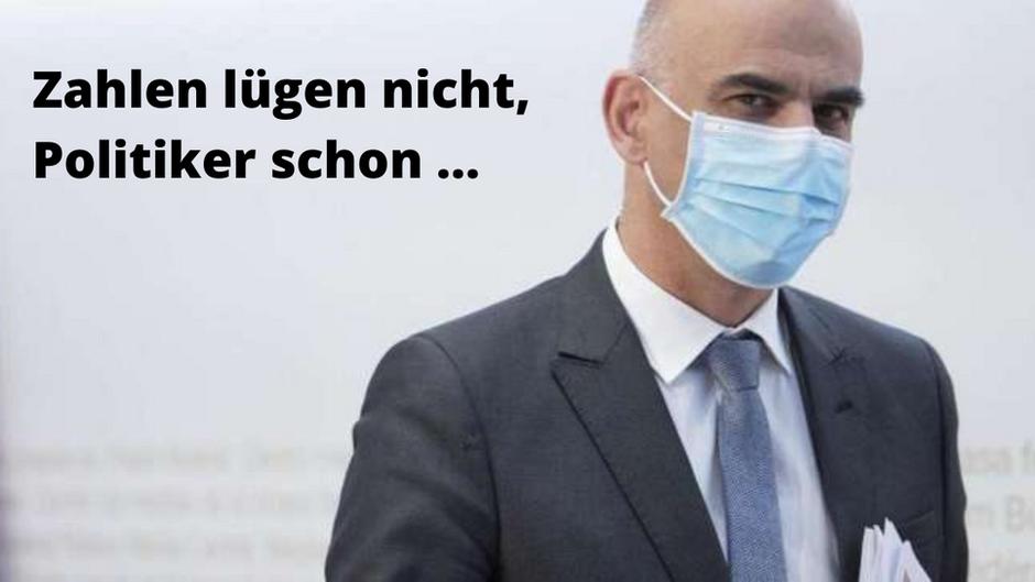 Bundesamt für Statistik: KEINE ÜBERSTERBLICHKEIT IM JAHR 2020!