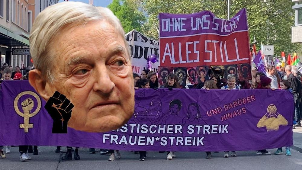 Frauenstreik Sorosstreik