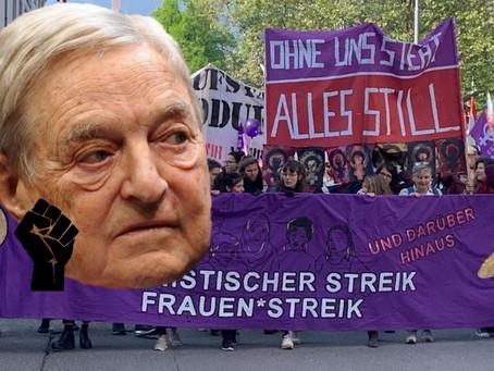 ACHTUNG: Frauenstreik ist SOROS-STREIK! (Teile und Herrsche Prinzip)