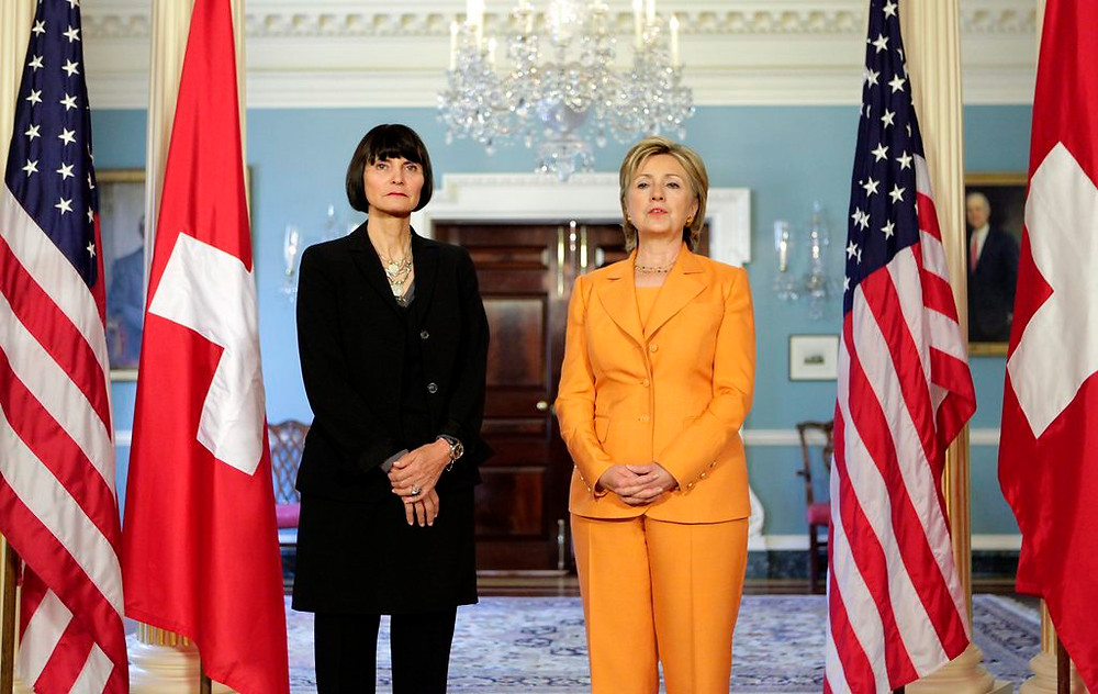 UBS Hillary Clinton Calmy Rey