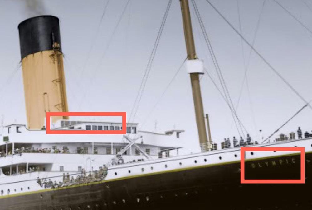 Titanic Olympic Tausch Verschwörung Betrug Morgan