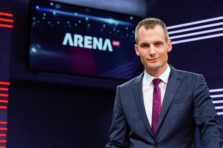 No Billag Arena SRF Projer Staatsfernsehen