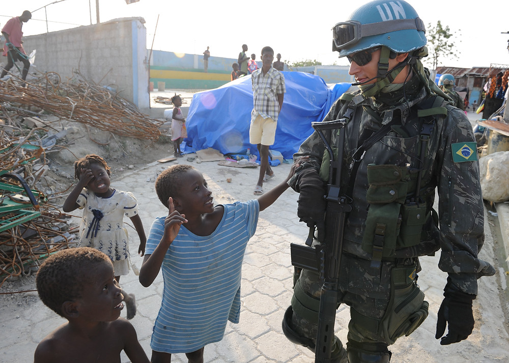 UNO UN Friedenstruppen Pädophilenring haiti Pedogate