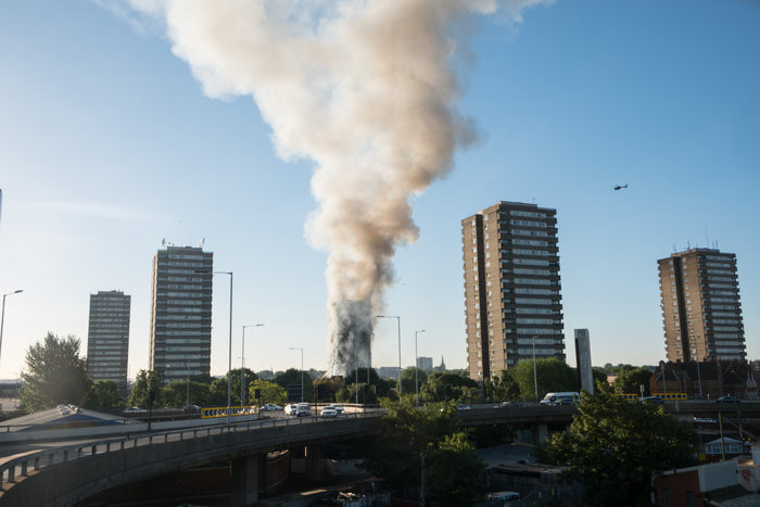 Grossbrand in London