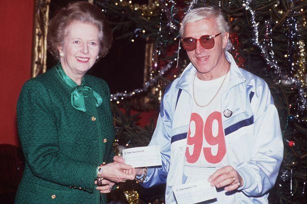 Savile Thatcher pedogate skandal