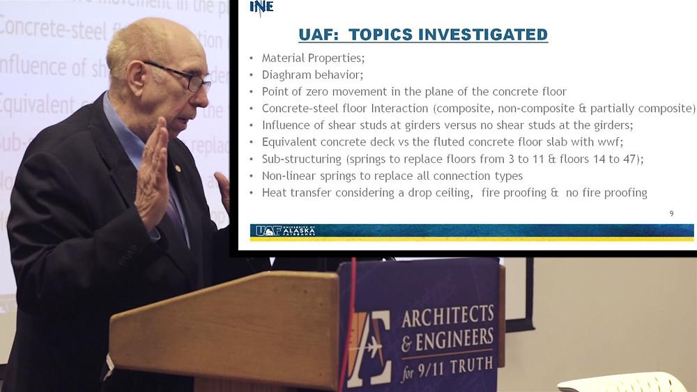 Prof Leroy Hulsey UAF WTC 7 Beweis