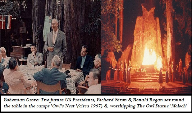 Nixon Regan Bohemian Grove