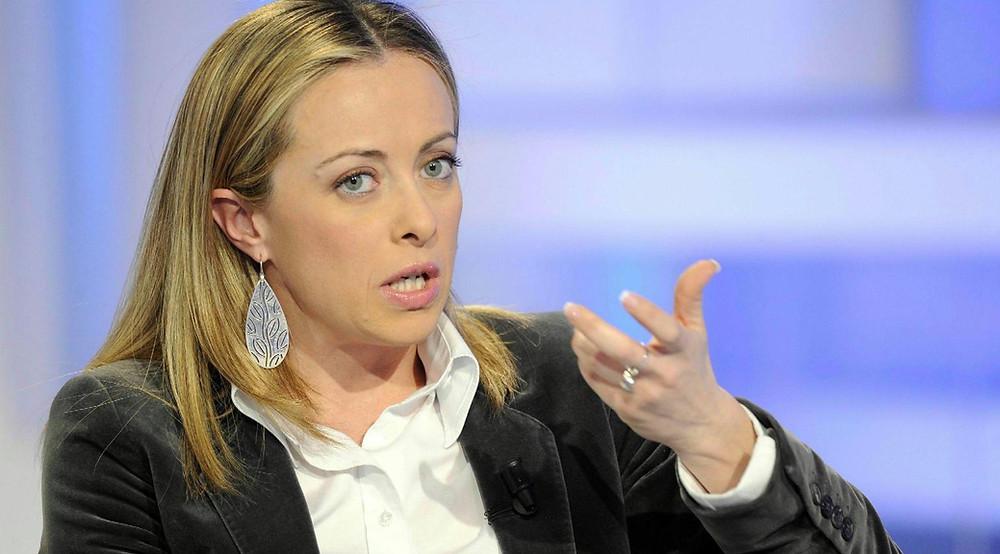 Giorgia Meloni Migranten