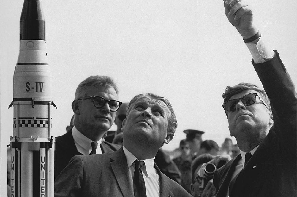 Wernher Van Braun JFK Rakete