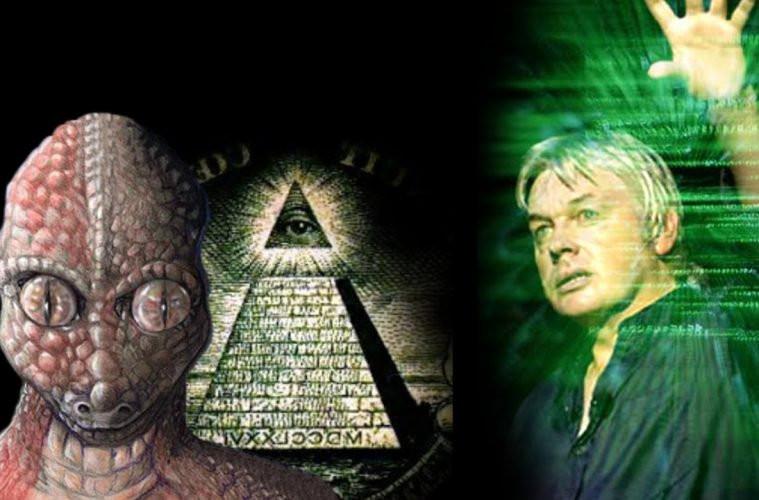 David Icke Reptilianer Reptiloide