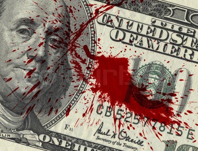 Terror Geschäft Krieg Geld Blutgeld legitim.ch