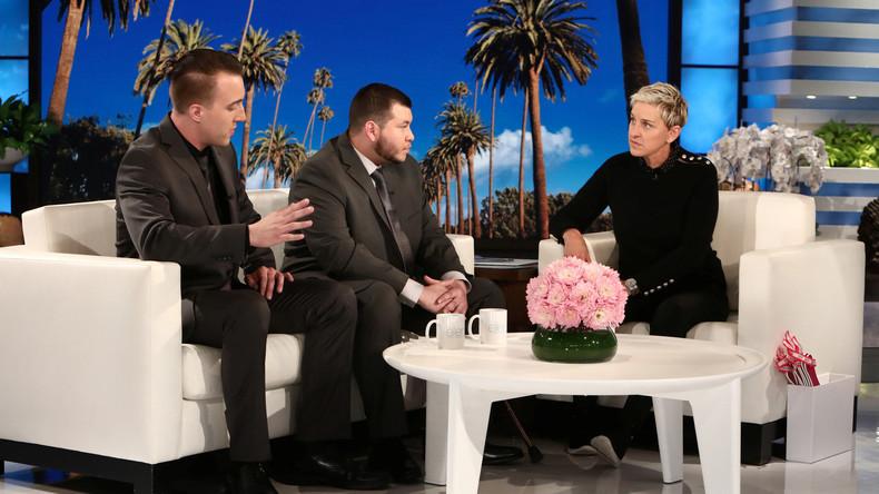 Jesus Campos Las Vegas Ellen Show