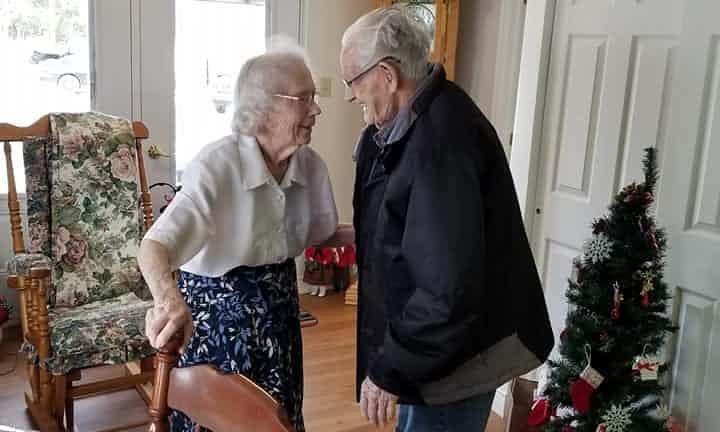 Paar nach 69 Jahren getrennt.