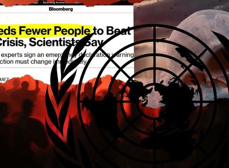 Böses Omen - Globalisten fordern öffentlich eine massive Bevölkerungsreduktion!