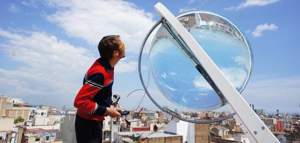 Solar Energie Glaskugel Kugel Rawlemon