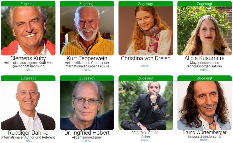 Corona Online Kongress mit Christina von Dreien, Bruno Würtenberger, Jo Conrad und vielen anderen!