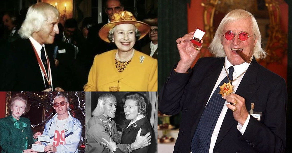 Jimmy Savile Queen Elisabeth