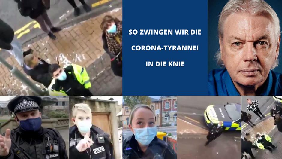 DER LOCKDOWN IST NICHT RECHTENS – Immer mehr Polizisten kapitulieren vor dem Common Law!
