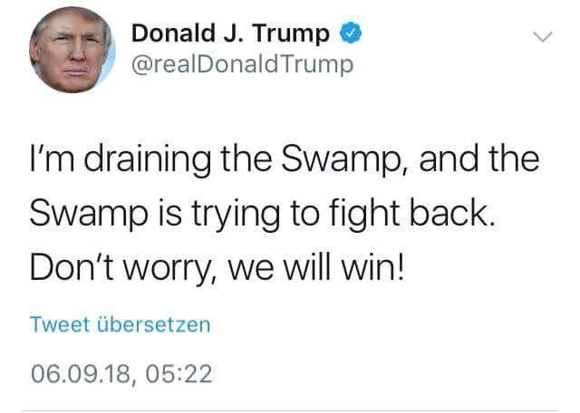 Trump Deep State Tweet