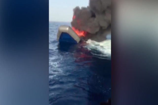 Migranten Flüchtlinge Küstenwache Lybien Schlepper