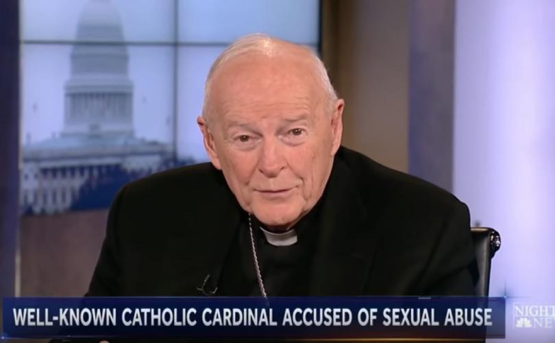 Kardinal McCarrick Pädophil Clinton