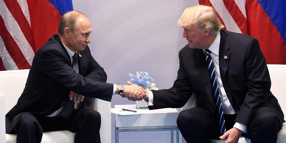 Putin Trump Russland Sanktionen