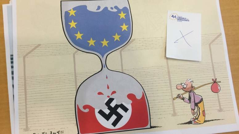 EU Karikaturen Charlie Hebdo