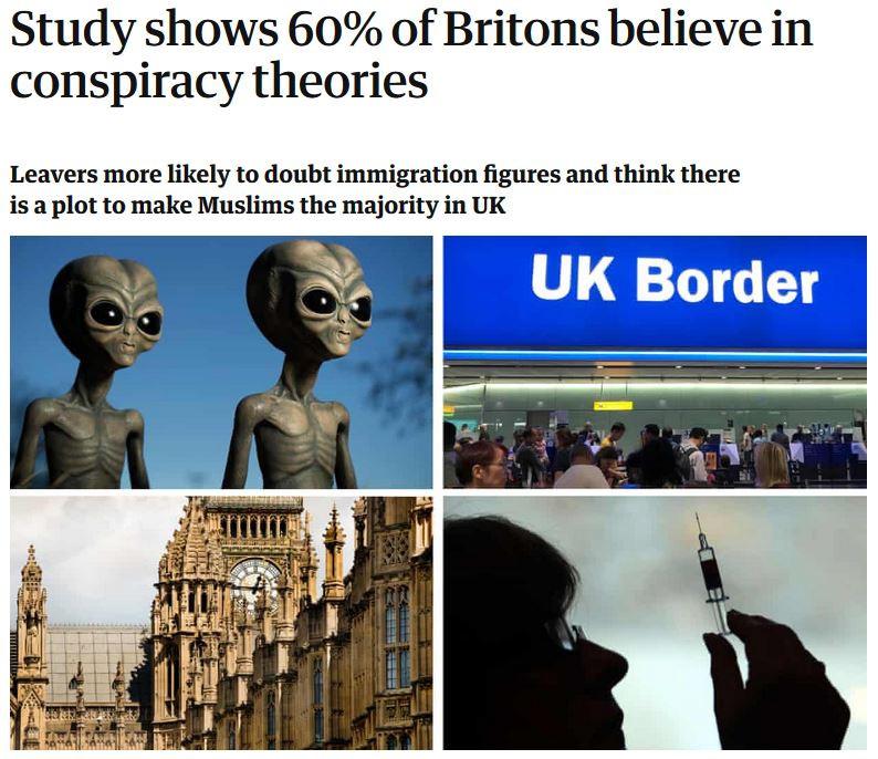 Verschwörungstheorien sind wahr