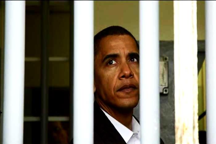 Obama bald hinter Gittern?