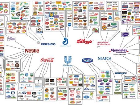 Wie es dazu kam, dass 10 Unternehmen praktisch die ganze Nahrungsmittelproduktion kontrollieren