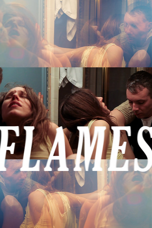 """""""Flames"""" poster"""