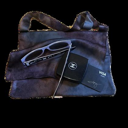 Driftwood Silk Satin Evening Bag