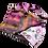 Thumbnail: Canyon Silk Satin Evening Bag