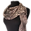 Thumbnail: Silk Scarf - Knit Look Print Chiffon Scarf