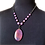 Thumbnail: Pearl Canyon Crystal Pendant Necklace