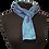 Thumbnail: Silk Scarf - Blue Sky Habutai