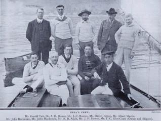 Club Yacht 'Hera' Wins 1908 Olympics