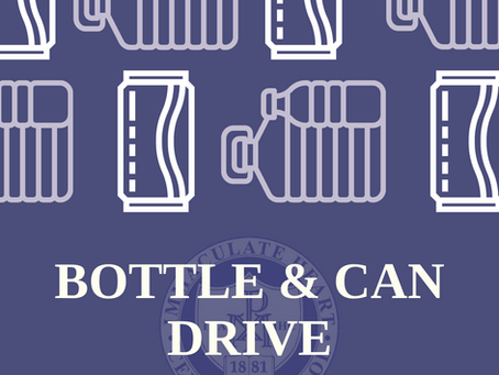 Bottle & Can Drive This Saturday, 1/9