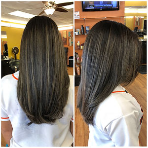 Women's Color and Haircut