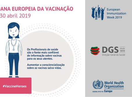 A ANMSP apoia a Semana Europeia da Vacinação 2019