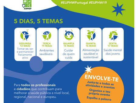 A ANMSP apoia a 1ª Semana Europeia da Saúde Pública