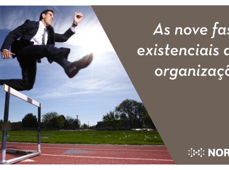 As nove fases existenciais das organizações