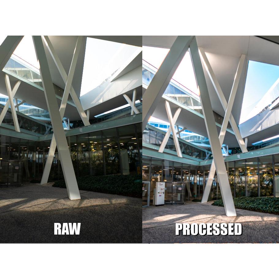 Vollbildarchitektur und Räume