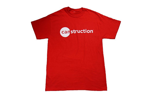 Canstruction Red Tshirt