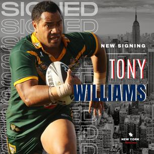TONY WILLIAMS.