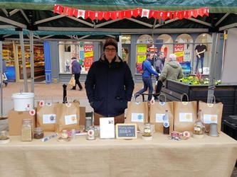 We were at Nantwich Farmers' Market