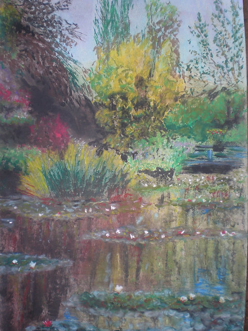 The pond at Giverny