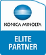 Konica Minolta Elite Partner Logo Croppe