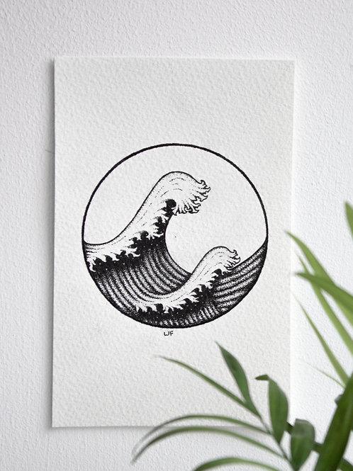 'Stippled Wave'