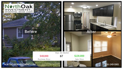 7809 E 102nd - Exterior - After - North Oak Investment Rehab Lender Kansas City Flip Funding Constru